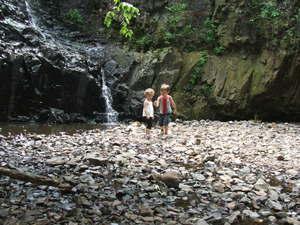 Hikingwaterfall